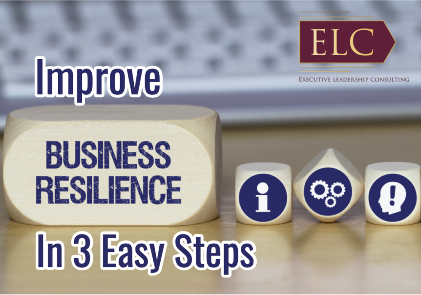 Improve resilience in 3 steps